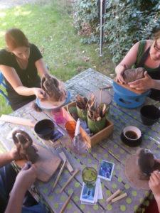Korte zomerreeks handvormen @ Radegonda Art | Leuven | Vlaanderen | België