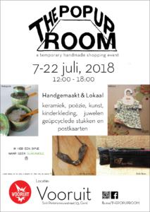 Pop-up room in juli in de Vooruit in Gent @ Kunstencentrum de Vooruit  | Gent | Vlaanderen | België